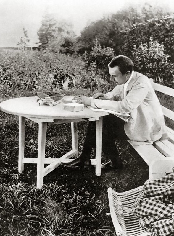 at his Ivanovka estate