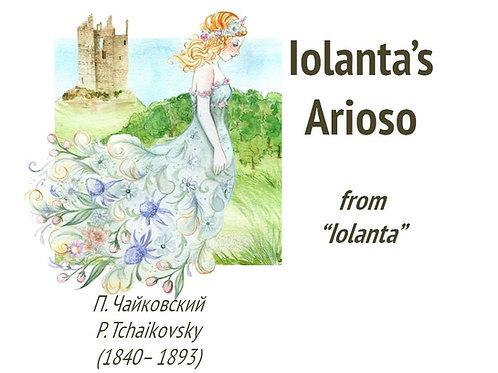 """Tchaikovsky """"Iolanta's Arioso"""" - DICTION SCORE"""