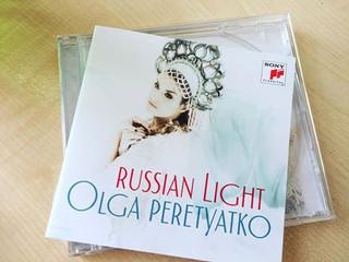 The long-awaited Russian album by Olga Peretyatko