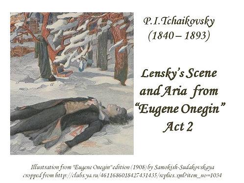 "Tchaikovsky ""Lensky's Scene and Aria"" - FULL PACK"