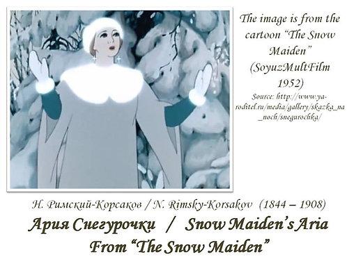 """Rimsky-Korsakov """"Snow Maiden's Aria"""" - FULL PACK"""