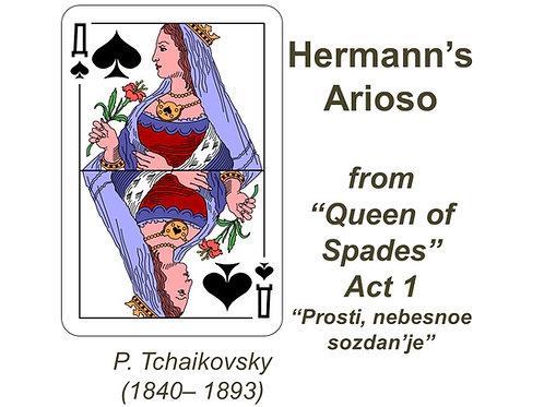 """Tchaikovsky Herman's Arioso """"Prosti, nebesnoe sozdan'je"""" - FULL PACK"""