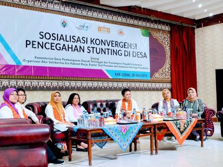 Sosialisasi di Lebak, KSP-OASE KK Tegaskan Kader Posyandu dan PAUD Duta Cegah Stunting