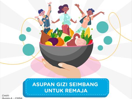 Asupan Gizi Seimbang untuk Remaja