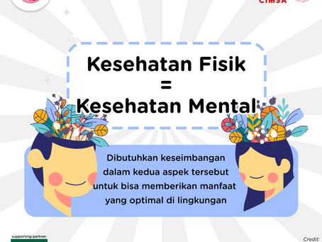 Sehat Mental Orang Tua dan Anak itu Penting!