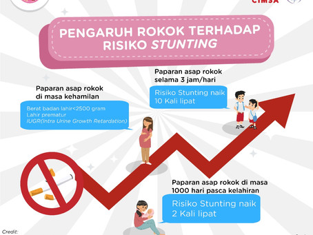 Let The Youth Spark Awareness: Cigarette Smoking and Its Increasing Risk for Children Stunting