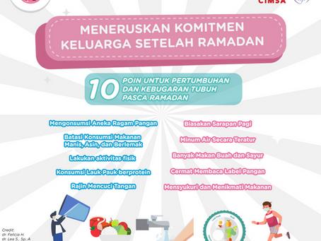 Yuk Teruskan Komitmen Hidup Lebih Sehat Bersama Keluarga setelah Ramadhan!