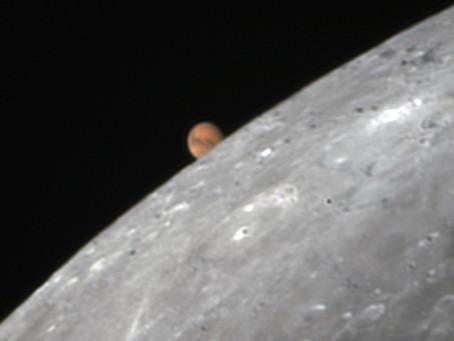 Ocultación de Marte por la Luna