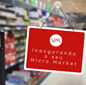 Inaugurando um Micro Market