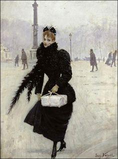 A une passante, Charles Baudelaire