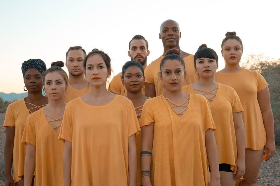Choreographers of the BlakTina Dance Festival