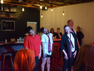 """Love. Laugh. Fork. Eat"" tantalizes audiences over Valentine's Day weekend"