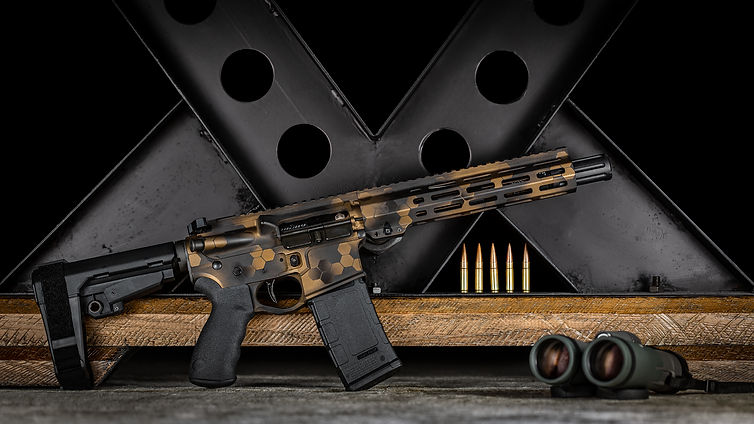 Sgt of Arms Custom AR-15 Pistol