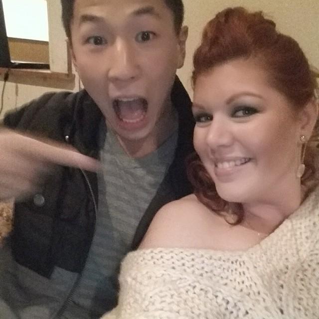 Comedian Jason Cheny & I
