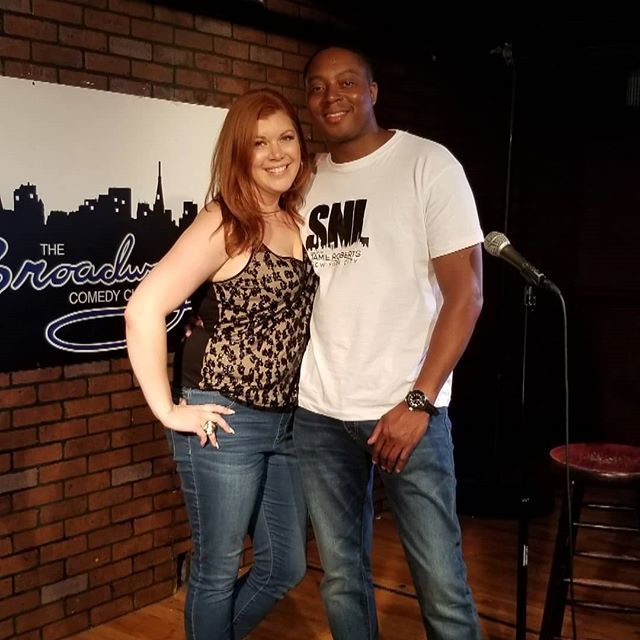_comedianjamie and I _broadway_comedy_cl