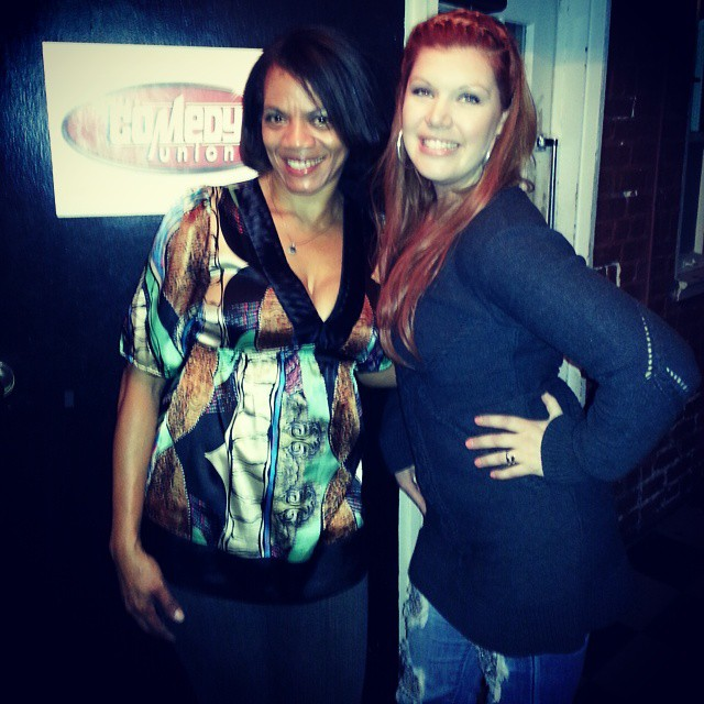 Comedian Ramona Stephens & I