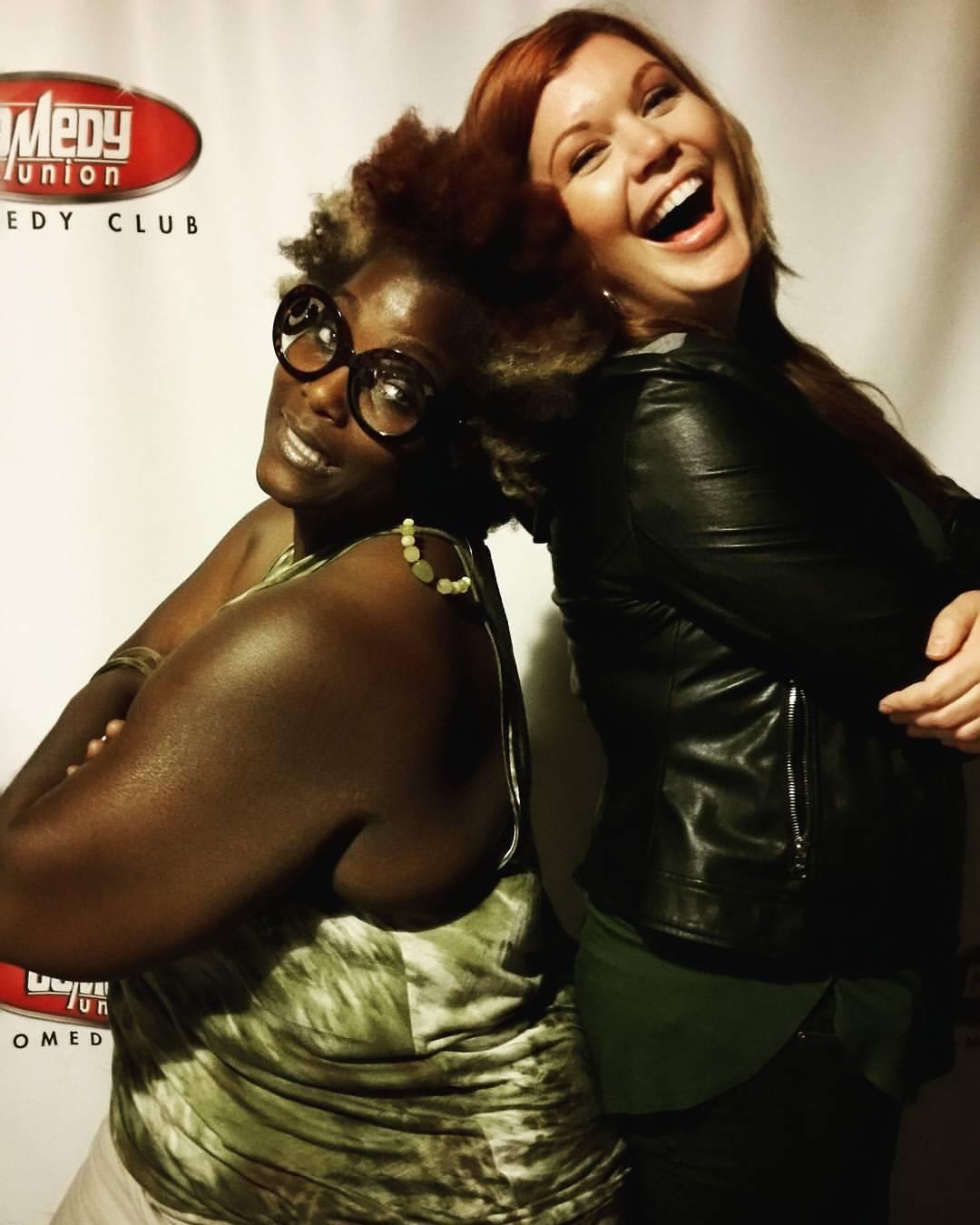 Comedian Queen Aishah & I