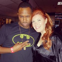 Comedian Garrick Dixon & I