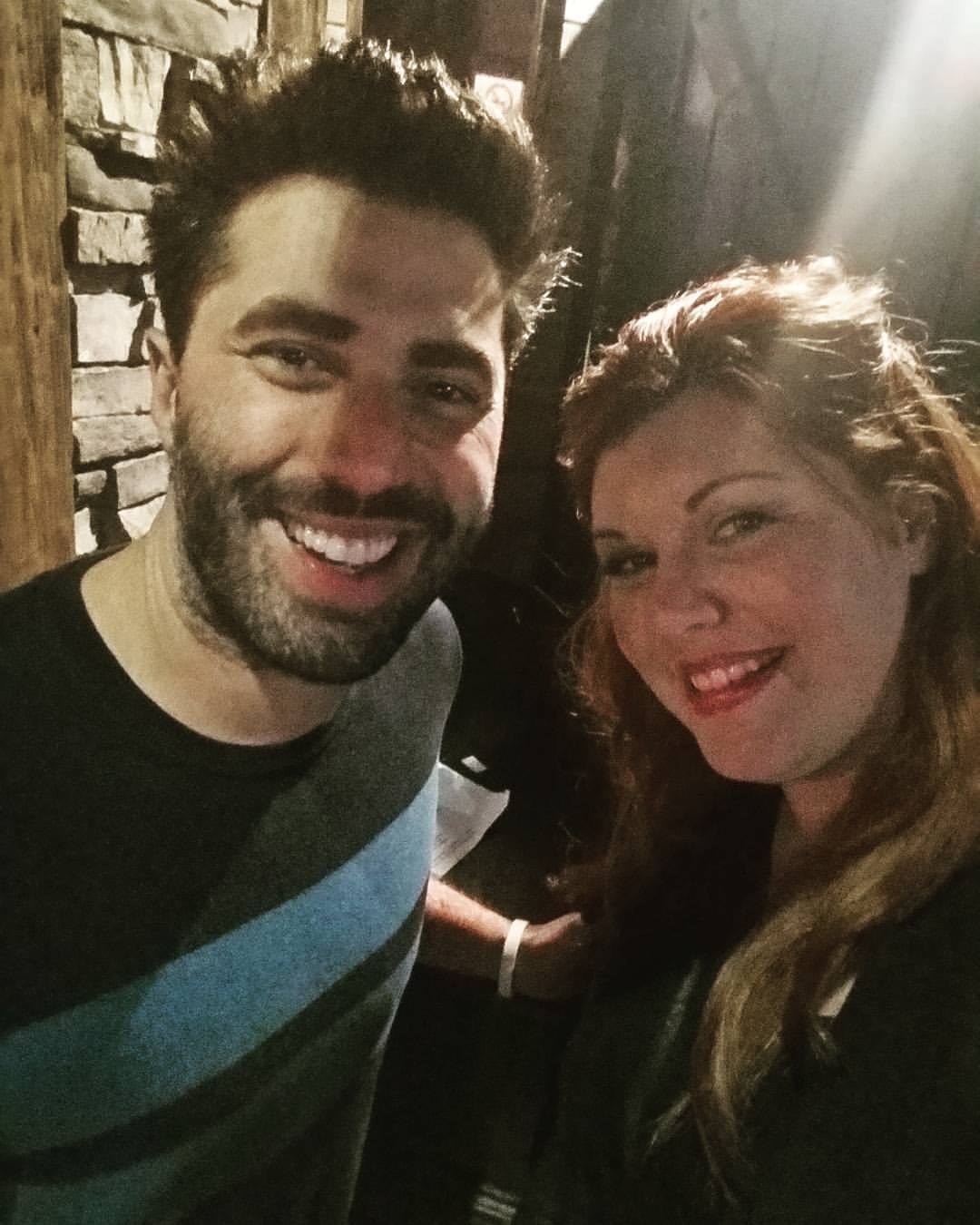 Comedian Adam Ray & I