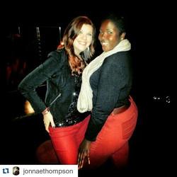 Comedian/Singer Jonnae Thompson & I