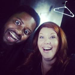 Comedian BT Kingsley & I