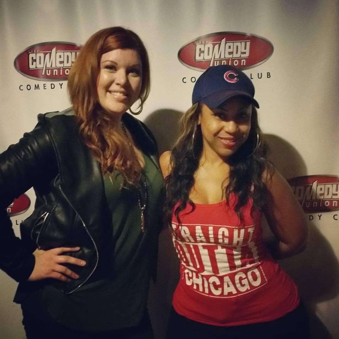 Comedian Aarona Lopez & I