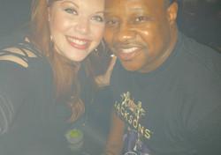 Drummer Stacey Sydnor & I