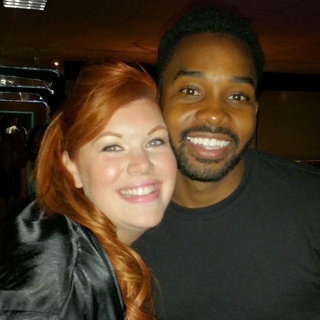 Comedian Brandon Lewis & I