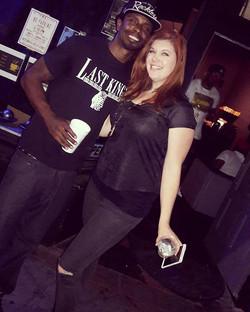 Had a ball workin _dopecomedyshow with _jamariomcclain