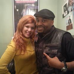 Comedian/Actor/Writer Joey Wells & I