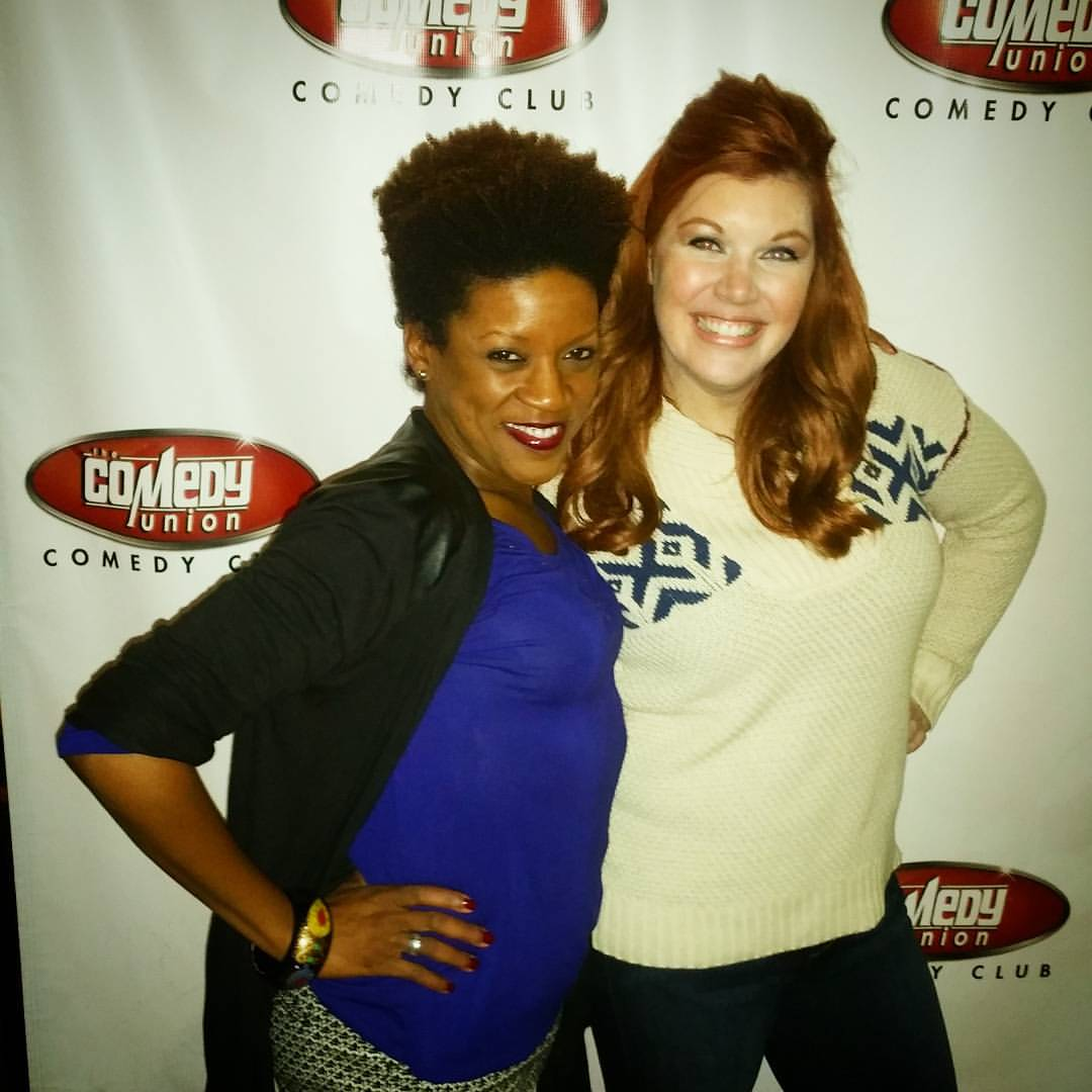 Comedian Jennifer Bryd & I