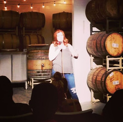 Sometimes I do comedy at Brewerys! Had a