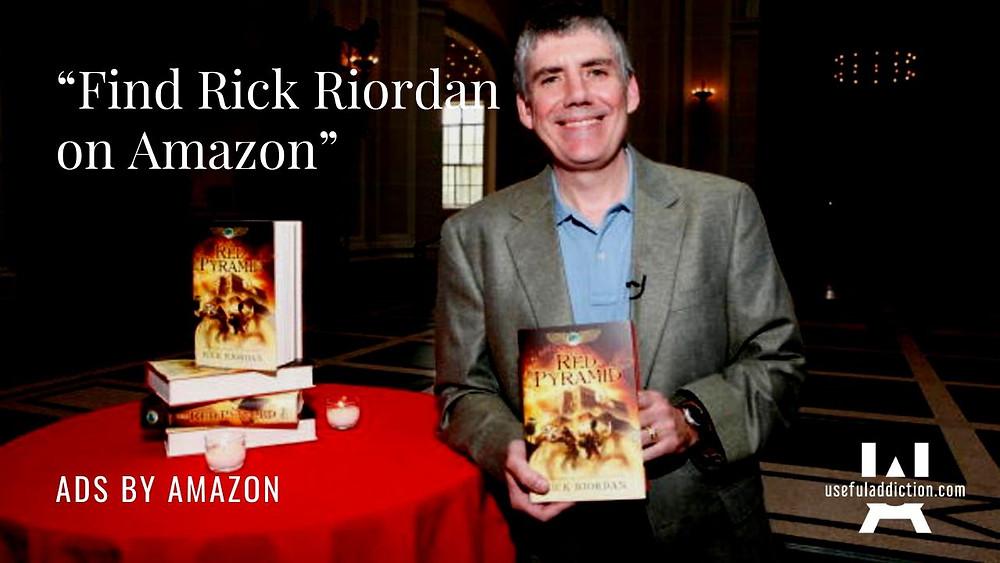 Rick Riordan Amazon
