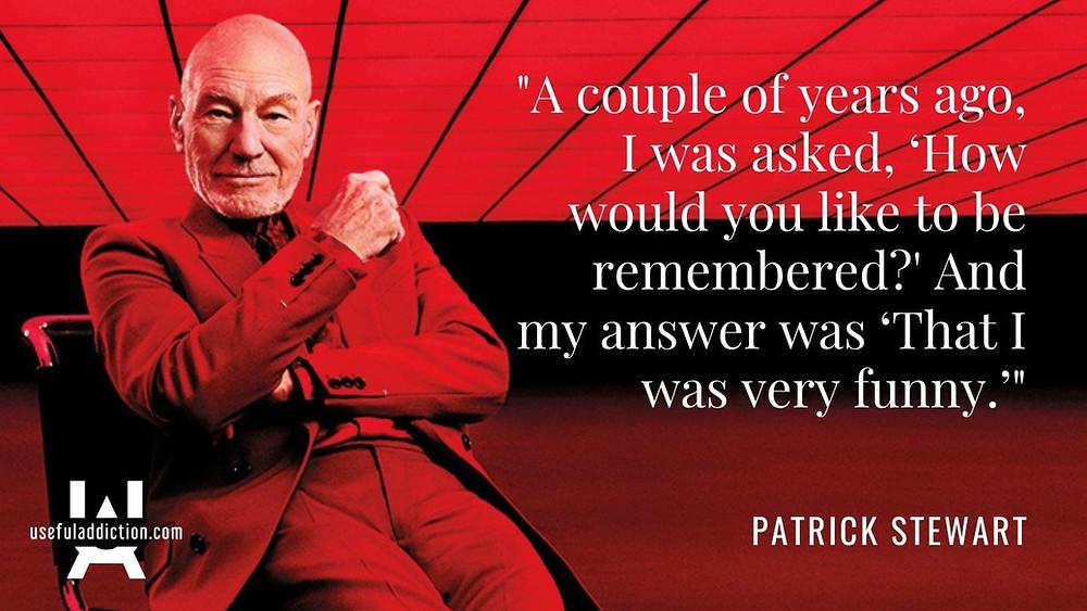 Patrick Stewart Quotes