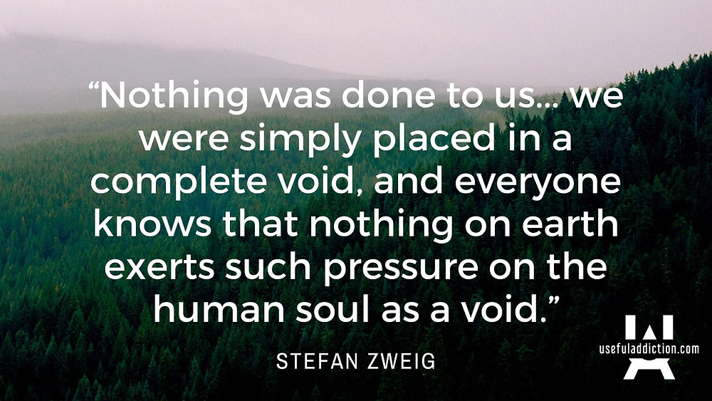 Stefan Zweig Chess Story Quotes