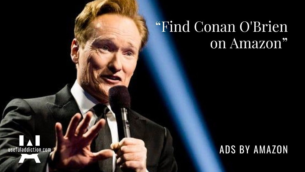 Conan O'Brien Amazon