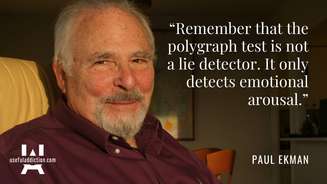 Paul Ekman Quotes