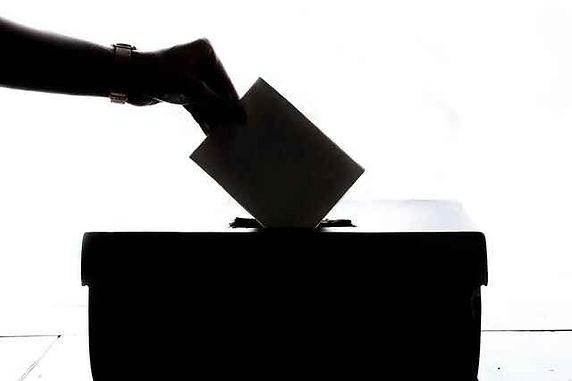 Vote White Background