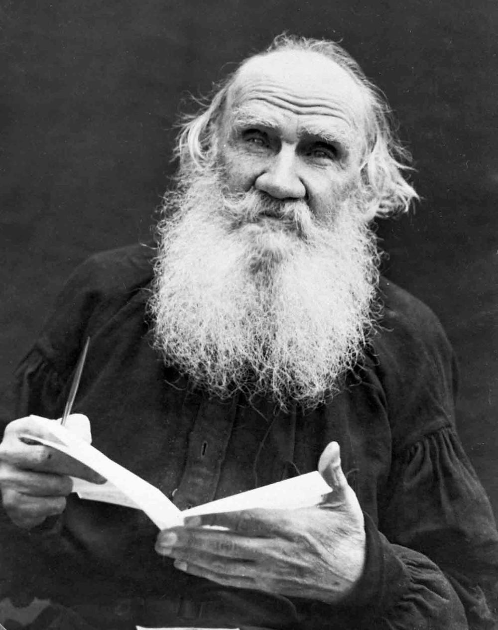 Russian Writer Leo Tolstoy