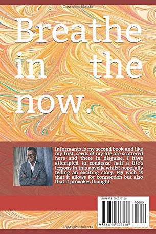 Informants by Marcus Olozulu - Back Cover Image (Paperback)