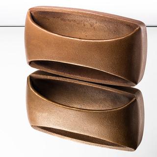 Iron Door Handle (Raw Bronze)