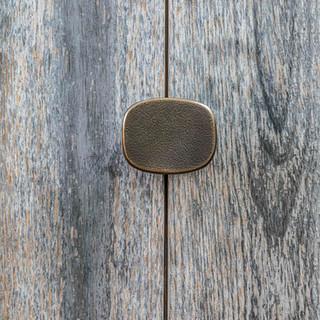 Oval Handle (Raw Bronze)