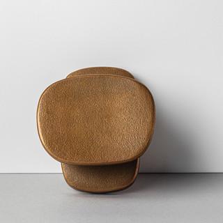 Peg Door Handle (Raw Bronze)