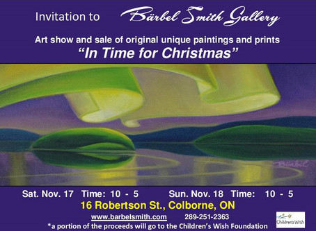 """YOU ARE INVITED to """"In Time for Christmas"""""""