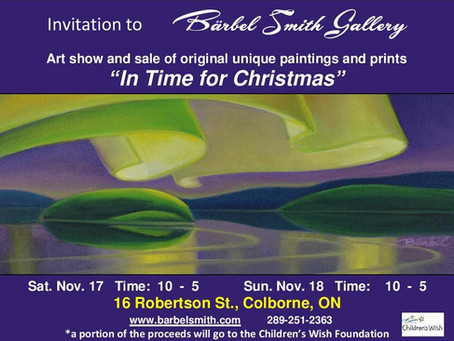 "YOU ARE INVITED to ""In Time for Christmas"""