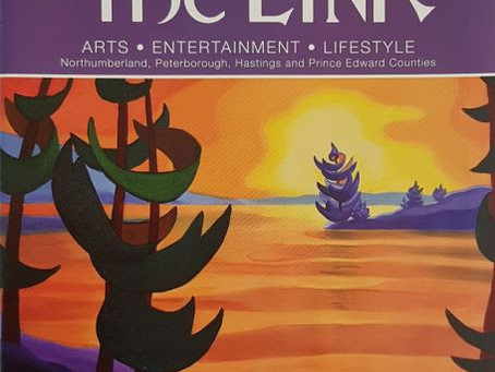 Bärbel's Art Featured in The LINK Magazine
