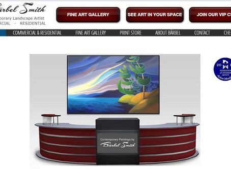New Bärbel Smith Gallery Site Now Open!