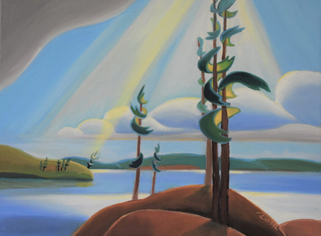 """Hot Off The Easel Special - """"To the North"""""""
