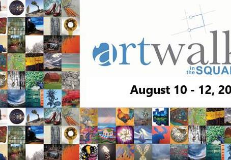 Visit Bärbel at ARTWALK IN THE SQUARE - August 10-12