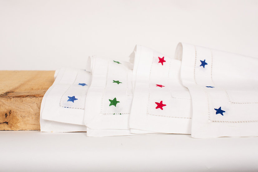 Hand Embroidered Napkins